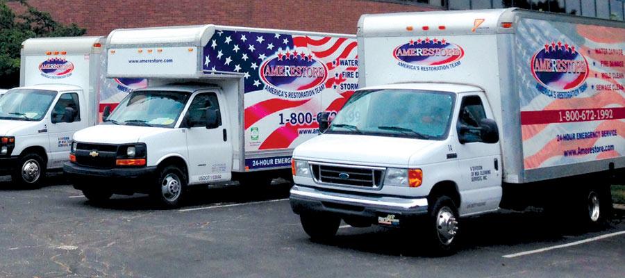 Three trucks   Amerestore