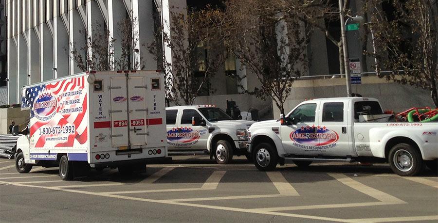 Three trucks | Amerestore