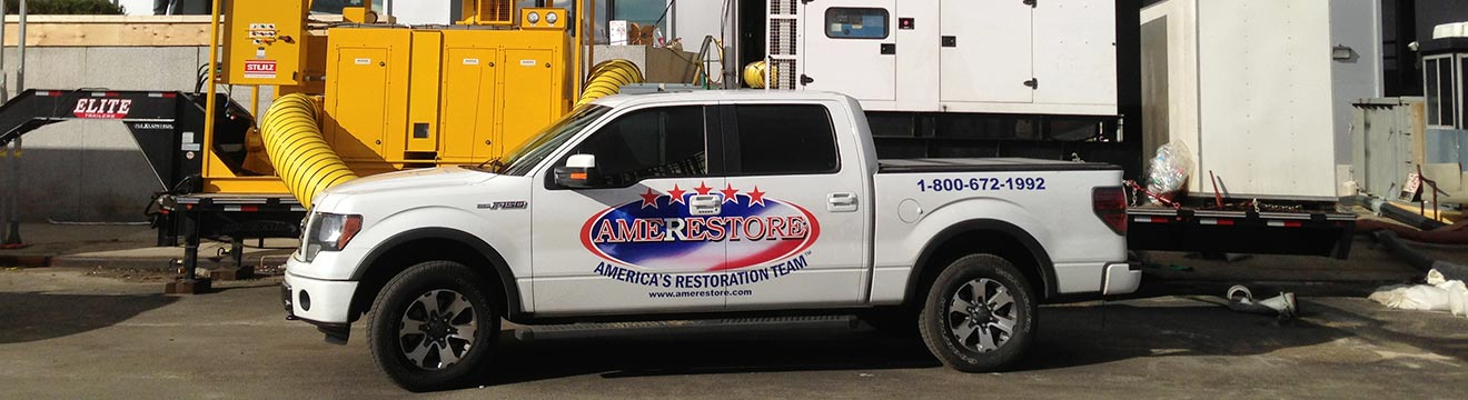 Pickup truck and construction equipment | Amerestore